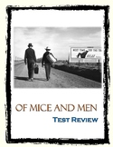 Of Mice and Men Test Review