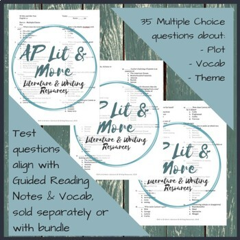 Of Mice And Men Test And Answer Key