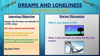 Of Mice and Men: The Themes of Dreams and Loneliness