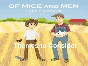 Of Mice and Men Theme Lesson