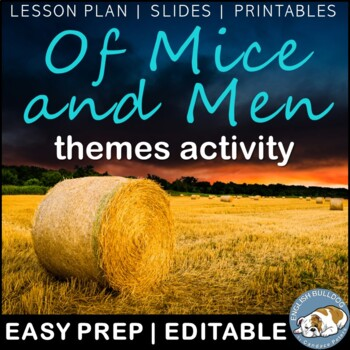 Of Mice and Men Themes Textual Analysis Activity