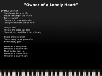 Lonely songs list