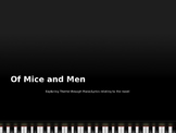 Of Mice and Men Themes through 17 Songs with Lyrics