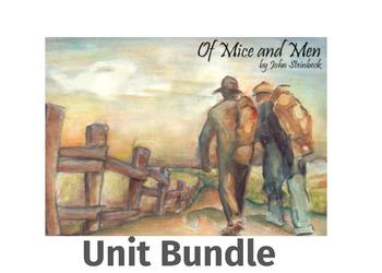 Of Mice and Men Unit Bundle