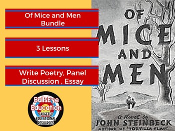 Of Mice and Men Unit Bundle