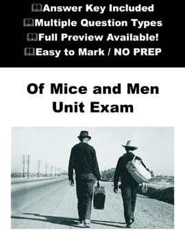 Of Mice and Men Unit Exam