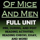 Of Mice and Men - Full Unit