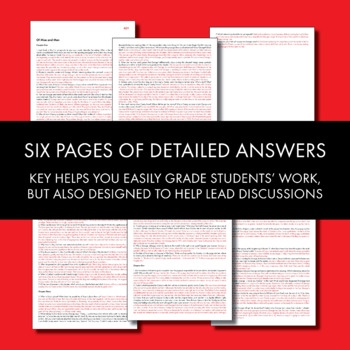 Of Mice and Men, Worksheets... by Laura Randazzo | Teachers Pay ...