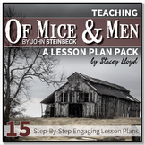 Of Mice and Men by John Steinbeck: Teaching Unit {Lesson Plans and Activities}
