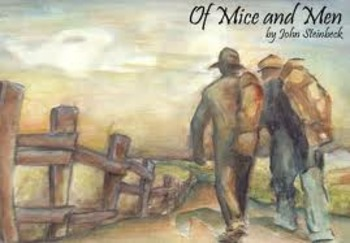 Of Mice and Men by John Steinbeck Chapter 5 Activity Bundle