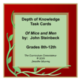 Of Mice and Men, by John Steinbeck: Depth of Knowledge (DO