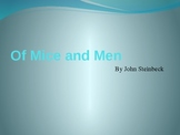 Of Mice and Men by John Steinbeck - Power Point