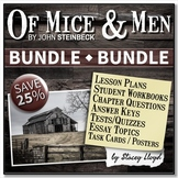 Of Mice and Men by Steinbeck BUNDLE
