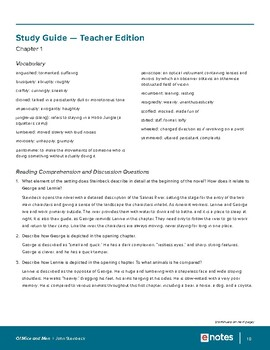 Of Mice and Men eNotes Lesson Plan