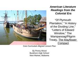 Of Plymouth Plantation and Other New World Texts for Core Curriculum