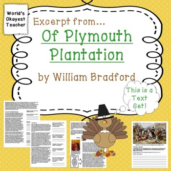 Of Plymouth Plantation by William Bradford: Excerpt from Primary Source
