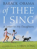 Of Thee I Sing: A Letter To My Daughters Reading Lesson and Biography Poster