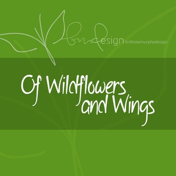 Of Wildflowers and Wings Font for Commercial Use