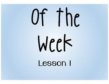 Of the Week