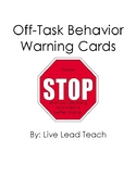 Off-Task Behavior Cards