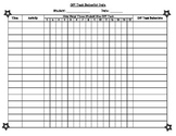 Off-Task Behavior Data Tracking Chart
