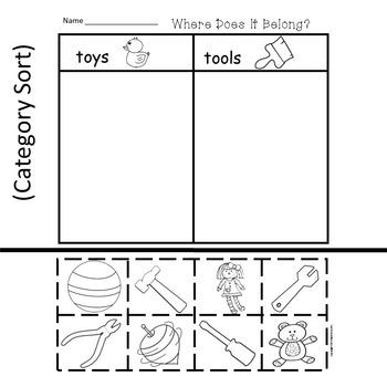 Off To Kindergarten:  6 Easy Prep Literacy Centers