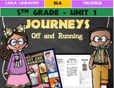 Journeys Grade 5 Trifold (Off and Running)