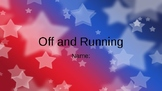 Off and Running Vocab Question Slides