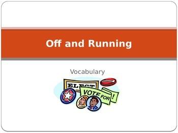 """Off and Running"" Vocabulary"