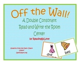 Off the Wall!  Double Consonant Read the Room/Write the Ro