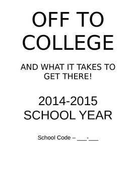 Off to College Guide