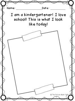 Off to Kindergarten Book Companion