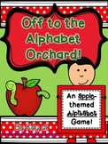 Off to the Alphabet Orchard! Alphabet Game