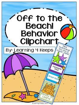 Off to the Beach Behavior Clipchart