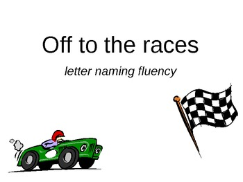 Off to the Races: letter fluency