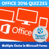 Microsoft Office 2016 Quizzes for Word Excel PowerPoint in Microsoft Forms