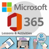 Microsoft 365 BUNDLE Lessons & Activities Updated 2021