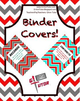 Office Binder Covers & Tabs