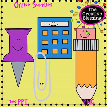 Office / Classroom Supplies Clip Art