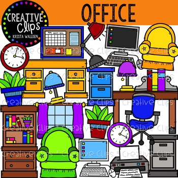 Office Clipart {Creative Clips Clipart}