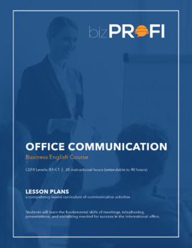 Office Communication Course - Lesson Plans (Your students will have fun!)