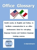 Office Glossary in English and Italian: a list of words re