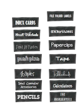Office Labels
