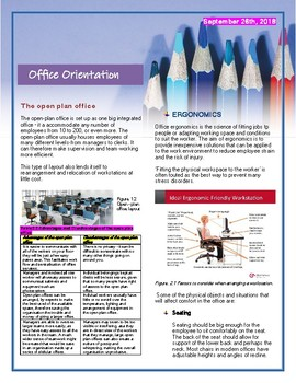 Office Orientation Handout