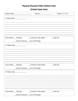 Office Referral