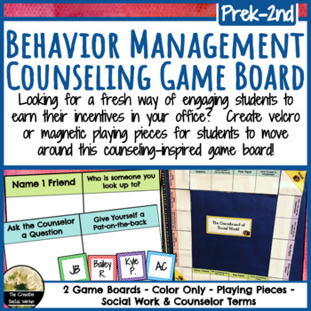 Office Behavior Management Chart for Counseling / Social Work