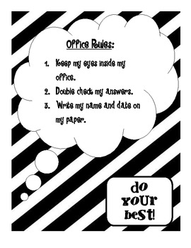Office Rules protect your paper!
