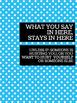 Office Signs - School Counseling Bundle - Blue Lolli
