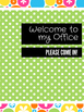 Office Signs - School Counseling Bundle - Watermelon 2