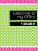 Office Signs - School Counseling Bundle - Watermelon